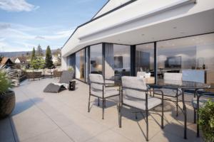 Terrassenwohnung