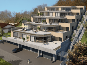 5 Terrassenhäuser in Erlinsbach