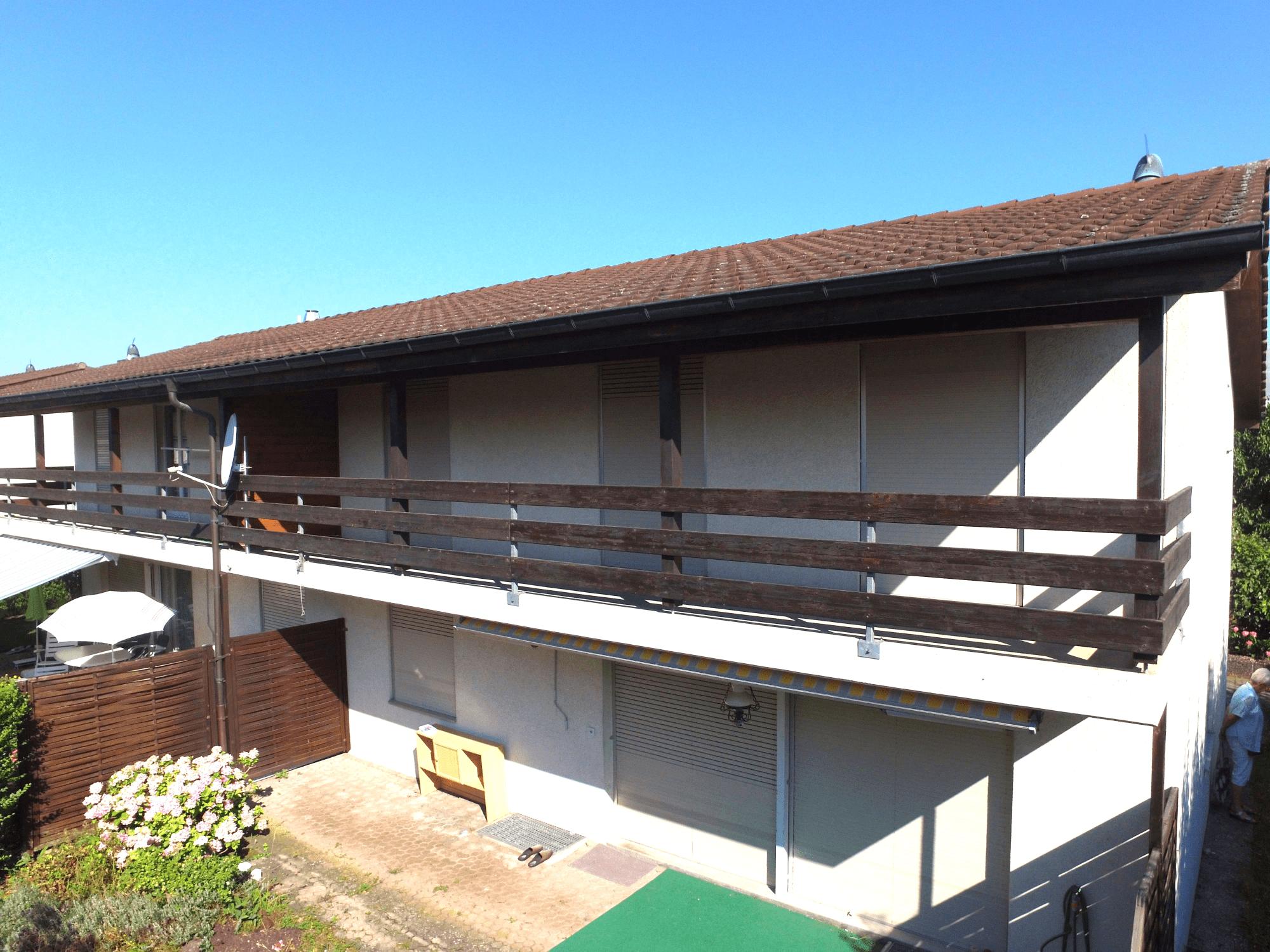 Doppeleinfamilienhaus in Buchs