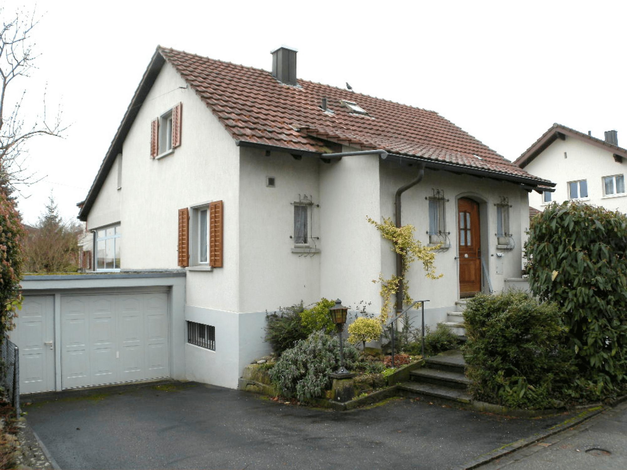 Einfamilienhaus in Aarau