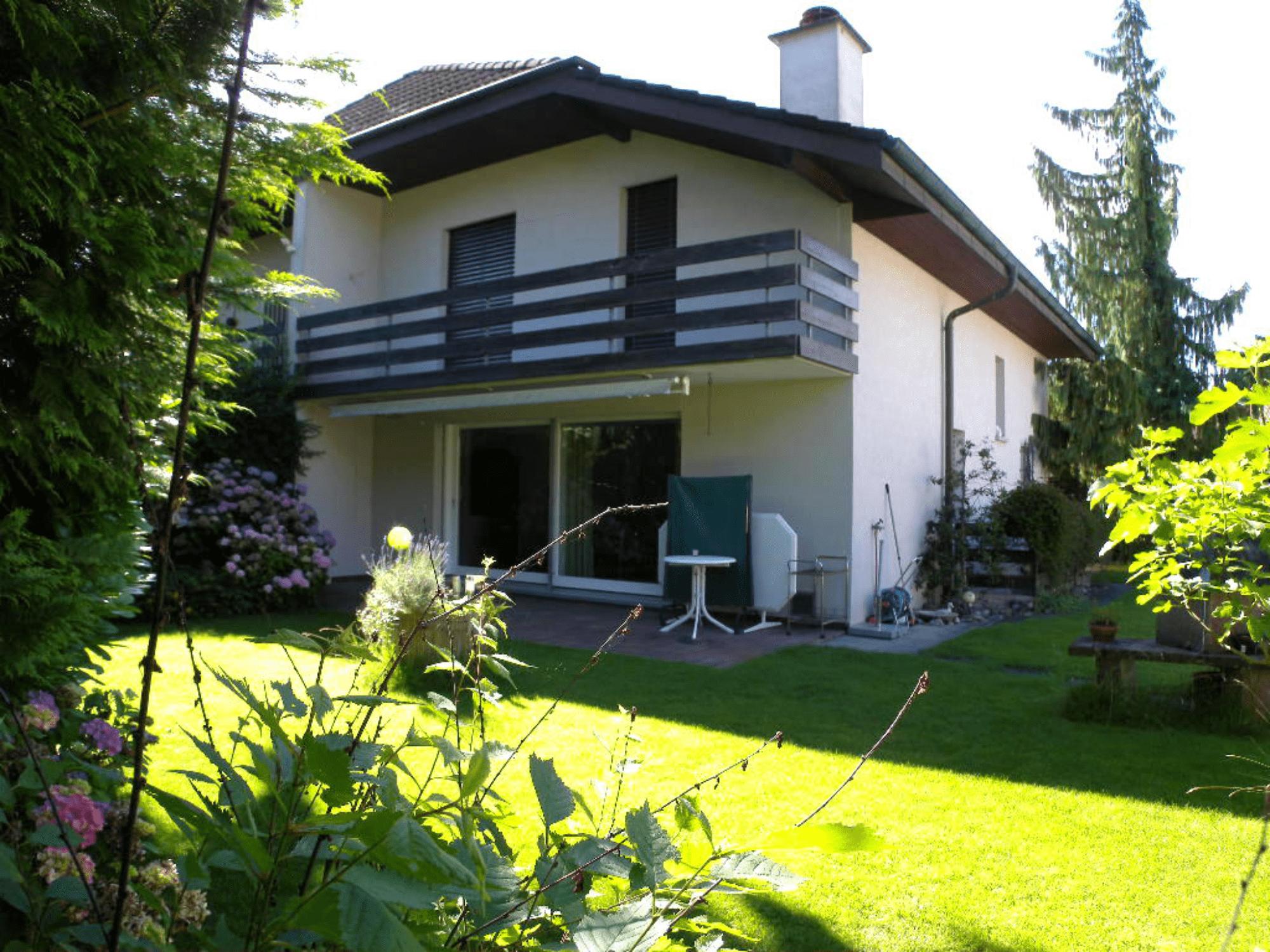 Einfamilienhaus in Buchs