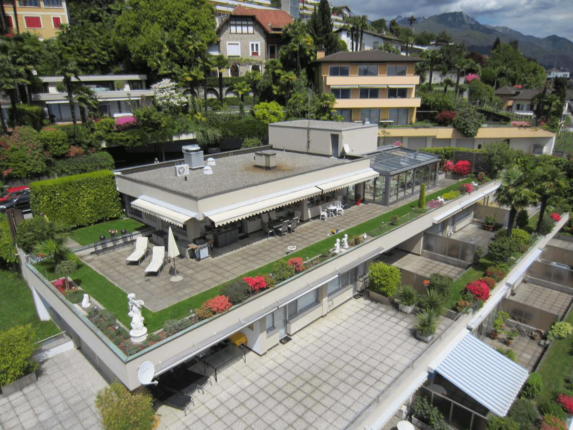Terrassenhaus in Locarno-Monti