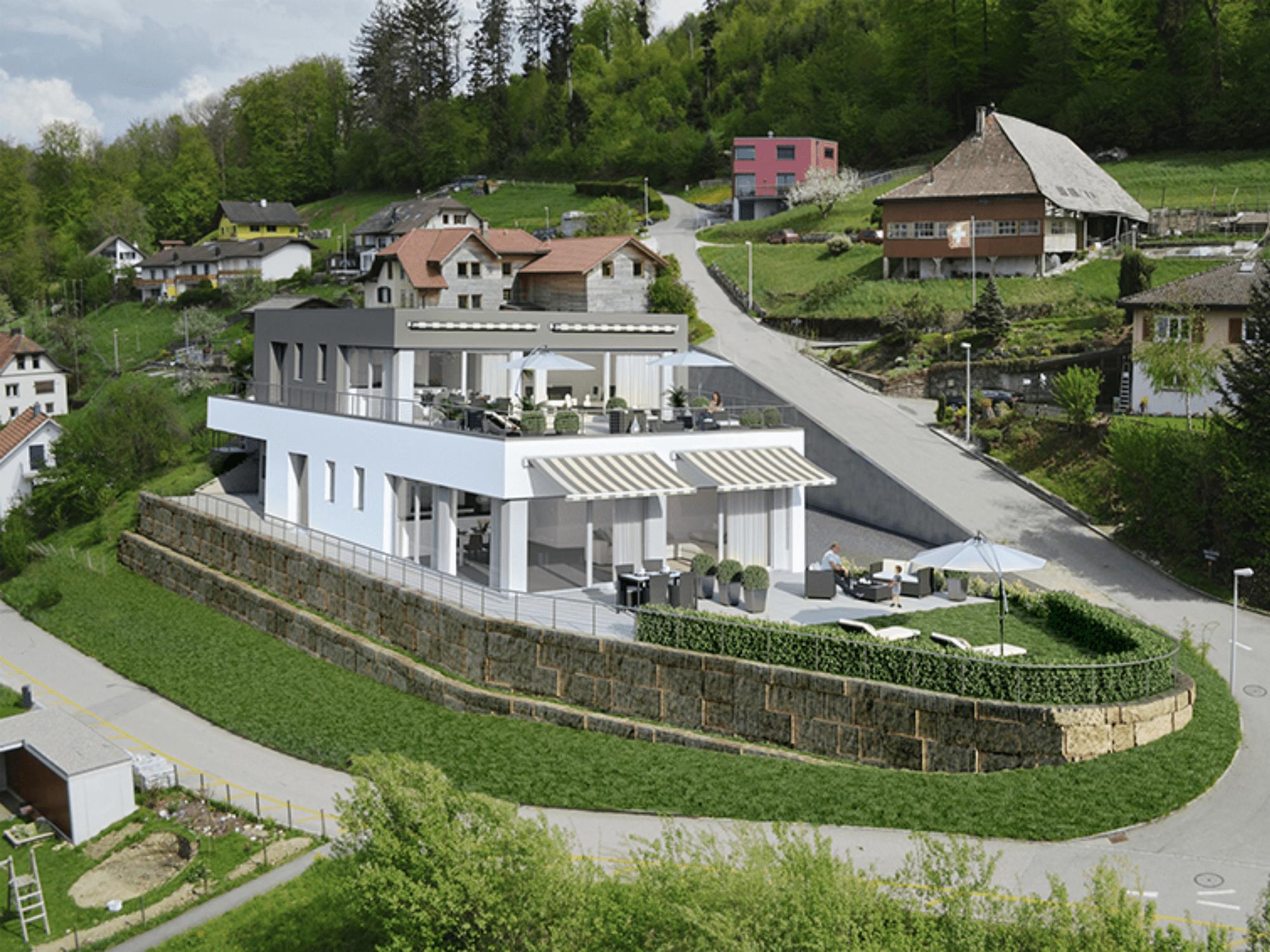 Terrassenwohnung in Schöftland